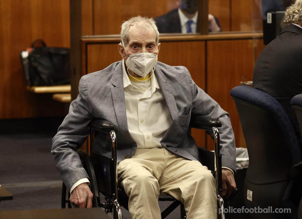 Robert Durst มีความผิดฐานฆาตกรรมเพื่อนสนิท คณะลูกขุนลอสแองเจลิสตัดสินให้ Robert Durst เมื่อวันศุกร์ที่ฆ่าเพื่อนรักของเขาเมื่อ 20 ปีที่แล้ว